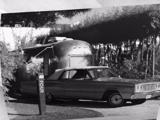 Airstream with car